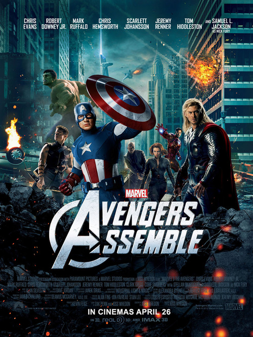 The Avengers (2012) posters - Superhero Movies