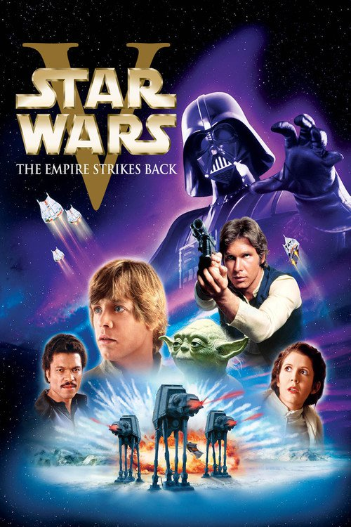 Image result for Star wars EP V movie poster