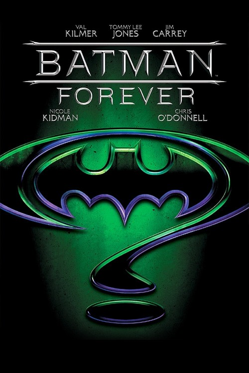 Batman Forever (1995) posters - Superhero Movies