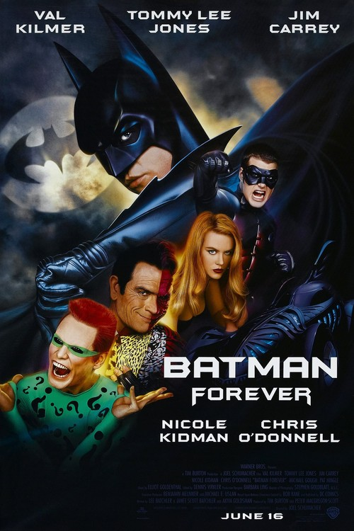 Batman forever 1995 posters superhero movies - Super batman movie ...